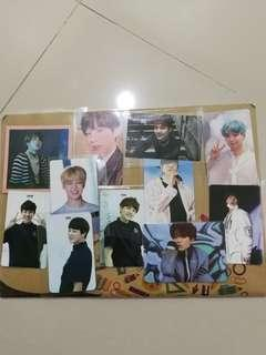 WTS fast BTS photocards