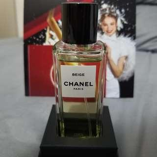 Chanel Les Exclusifs Beige Perfume 75ml with Box