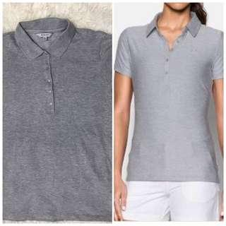 Preloved Uniqlo women dry polo shirt