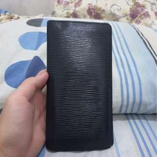 Louis Vuitton LV Epi Brazza wallet original not gucci hermes bally bottega salvatore