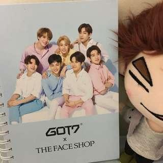 GOT7 x TFS Notebook
