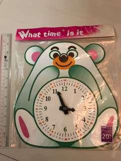 Learn to to tell the time