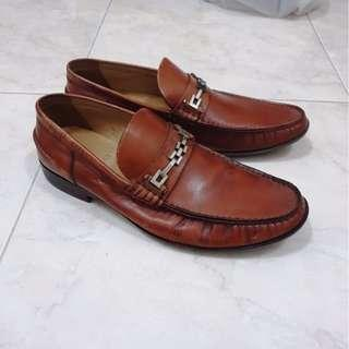 Bally Aminos brown loafer original not gucci LV hermes bottega louboutin prada