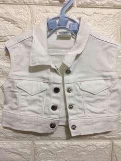 Basic Denim baby blazer (6-9M)
