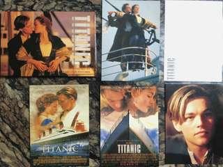 Titanic Movie Full Colour Postcards