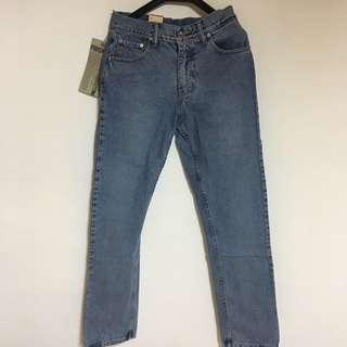 🚚 Levi's 505 丹寧直筒褲 淺藍 牛仔 古著 全新品 小寫e
