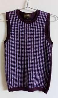 Calvin klein ladies sleeveless vest