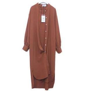 ✅ Caramel shirt dress #XMAS25