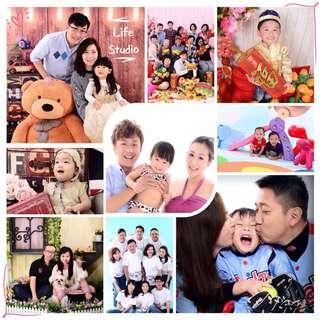 Life Studio🌸節日優惠🌸 親子家庭攝影體驗