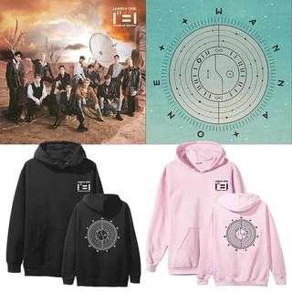 PREORDER - WANNA ONE HOODIE *S-3XL* EXC.POS