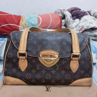 Louis Vuitton LV Beverly GM original not gucci hermes bottega tods salvatore