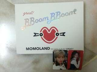 [WTS] Momoland Bboom Bboom Album