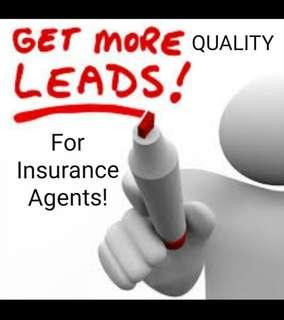 QUALITY & QUALIFIED LEADS for Insurance Agents, Financial Advisors, etc...