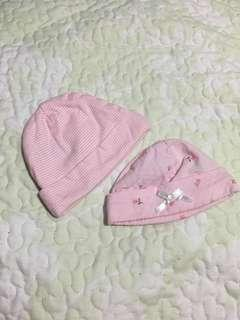 Baby bonnets ( nb )