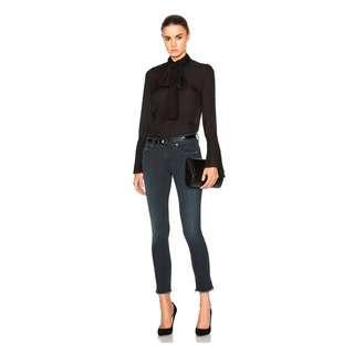 $260 rag & bone capri skinny jean size 23 in colour Hanford