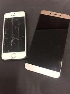 Defective iPhone 5s and LeEco x626