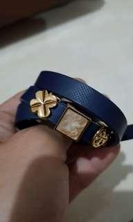 Tory Burch siliding charms leather wrap bracelet not marc jacobs kate spade