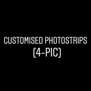 Customised Photostrips (4-pics)