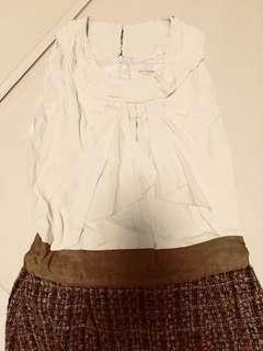 全新 Kate Spade silk wool dress 真絲 復古風 cocktail dress