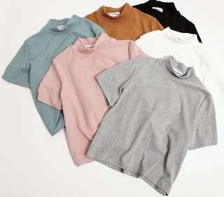 INSTOCK ulzzang turtle neck top