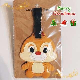 迪士尼奇奇蒂蒂_行李箱名牌 行李姓名牌 聖誕節交換禮物