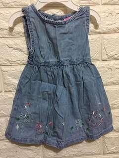 Baby Denim dress (3-6M)