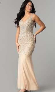 Blush Grad Dress
