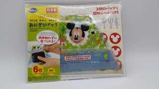 Made in Japan🇯🇵, Mickey Mouse飯團包裝,$25/pack(6個入)