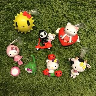 Limited edition Hello Kitty crossover Toki Doki set