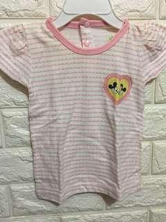 Sleepwear minnie & mickey mouse Cotton (6-9)