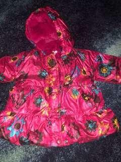 Absorba Winter jacket for girl ( 1-2yo )