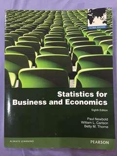 Statistics for Business and Economic