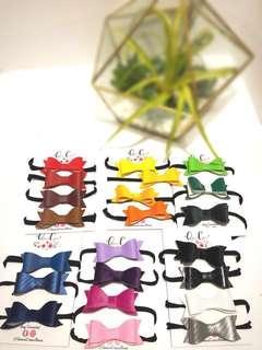 Queens Crown Bows -mini hair bows