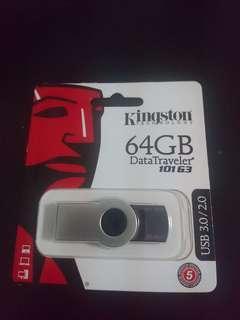 64GB pendrive Data Traveler 101 G3