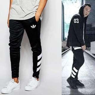 AJ7673  Adidas Originals 愛迪達 休閒褲 棉褲 運動褲 運動長褲 薄款 慢跑 縮口褲
