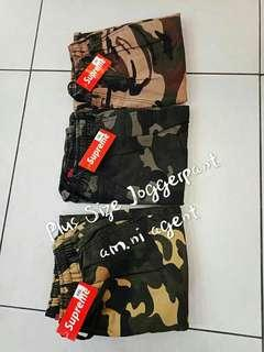 ARMYJOGGER PLUS SIZE