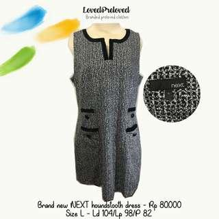 Brand new NEXT houndstooth dress