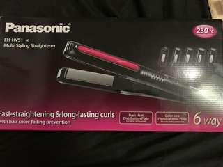 Panasonic 6 Way Straightener and Curler