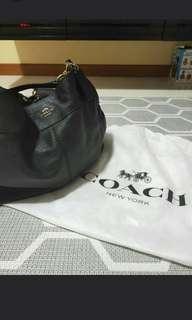 Authentic Coach Lexy Pebble Leather Shoulder Bag F57545