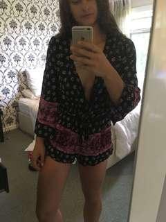 Boho festival playsuit