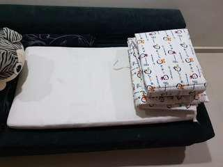 Baby Cot Mattress and bumper/protector. Free Giveaway