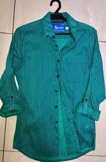 TOPMAN Pinstripes Shirt