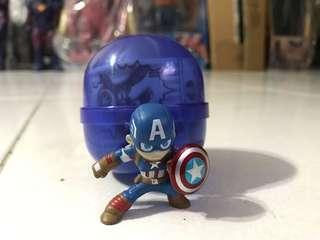 Captain America Capsule Toy