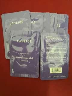 Laneige Special Care Lavender Water Sleeping Mask 7 sachets