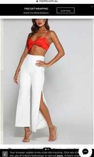 Meshki Shanaya Pants White