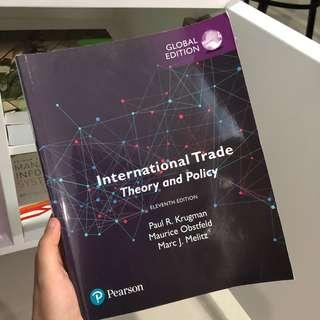 International Trade Global Edition