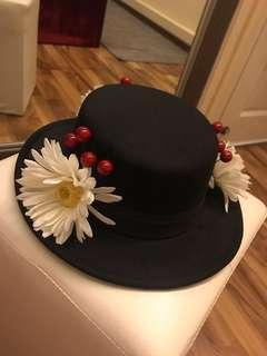 Black Hat Mary Poppins DIY