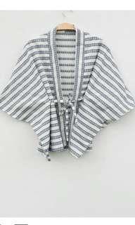 Stripe kimono