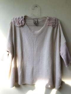Batwing Knitwear Blouse