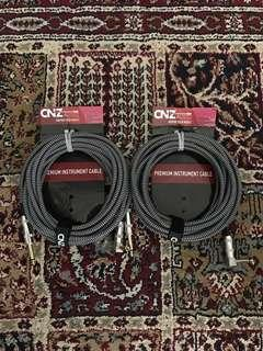 Brand New CNZAudio Woven Guitar Cable